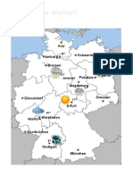 Das Wetter in Deutschland - Wechselspiel Aktivität