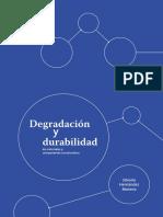 Degradación y Durabilidad de materiales