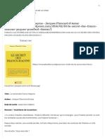Le secret des Francs-Maçons – Jacques Ploncard d'Assac « Livres à lire.pdf