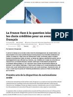 La France face à la question islamique _ les choix crédibles pour un avenir français _ Carnet de bord d'Aymeric Chauprade.pdf