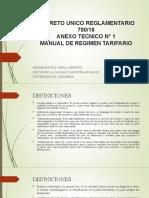 DUR 780 ANEXO TECNICO 1