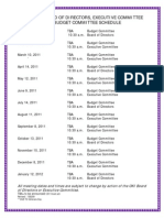 2011board Executivecommitte Meeting Schedule Lst