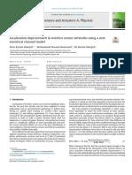 Paper24-Localization improvement in wireless sensor networks using a newstatistical channel model