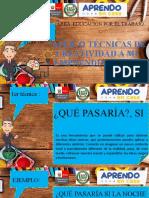 APLICO TECNICAS DE CREATIVIDAD