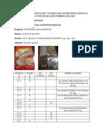 rotulado y etiquetado nutricional, resolucion 333 de colombia