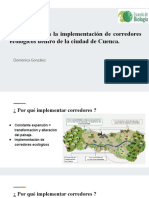 Corredor ecologico González