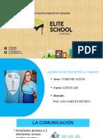DIAPOSITIVAS LENGUAJE (MISCELÁNEA) ELITE SCHOOL