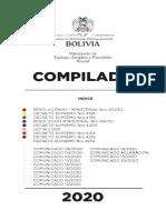 COMPILACIÓN DE NORMAS - COVID-19 EN BOLIVIA