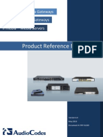 LTRT-52305 Product Reference Manual for SIP CPE Devices Ver 6.0