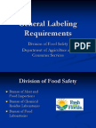 Wk 3 - General Labeling Requirements IFAS Pres909