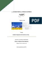 AL.Unidad 3 Asignación del docente en línea.
