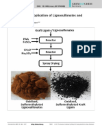 Production and Application of Lignosulfonates and Sulfonated Lignin