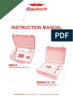 90164-3.00 Instruction Manual WR-XX-Field Case