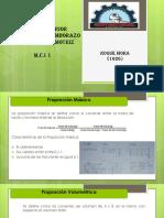 1 Proporción Másica y Volumétrica, DTC sin escaner