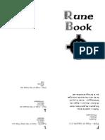 Booklet Runes