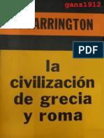 FARRINGTON, BENJAMIN - La Civilización de Grecia y Roma (1) [por Ganz1912].pdf