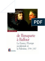 La France, l'Europe occidentale et la Palestine, 1799-1917