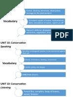 Unit 10 Conservation