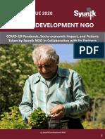 Syunik NGO Newsletter Special Issue 2020