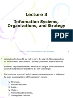 Lecture 3-Information Systems, Organizations, and Strategy