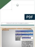 CREACION DE FORMULARIO
