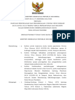 KMK No. HK.01.07-MENKES-328-2020 ttg Panduan Pencegahan Pengendalian COVID-19 di Perkantoran dan Industri
