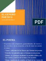EL GÉNERO POÉTICO