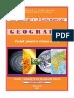 Geografie. Caiet Pentru Clasa a v-A 2019