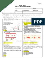 U1 Química I PRUEBA F1