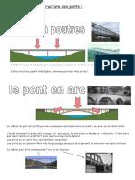 Structure des ponts