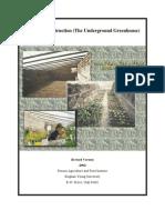 DIY Underground Greenhouse For Organic Farming