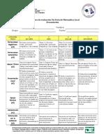 Descriptores de evaluación 5ta Feria de Matemática Local.docx