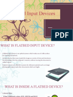 Flatbed input devices(1)