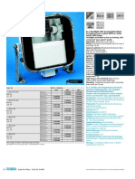 Ex n Floodlight With Incorporated Ballast for High Pressure Sodium (HPS) or Metal Halide (MH) Lamps S052_053