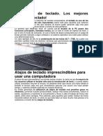 COMANDO DE TECLADOS