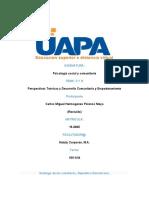 tarea II y III  de psicologia social y comunitaria.docx