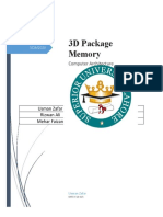 3D Packaged Memor Documents