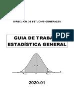 Guía   Estadística General
