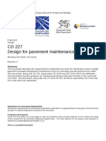 CD 227 Design for pavement maintenance-web
