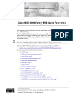 Cisco MDS 9000 Family MIB Quick Reference