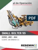 MANUAL DE OPERACIÓN SMALL BOLTER
