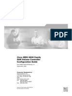Cisco MDS 9000 Family SAN Volume Controller Configuration Guide
