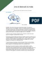 La web pone al desnudo la mala ortografía - Artículo La Nación digital 2012