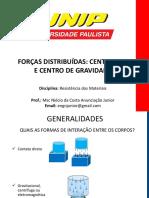 2 - CENTRÓIDE - RESISTÊNCIA DE MATERIAIS