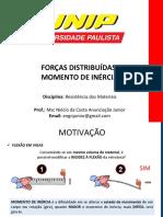 3 - MOMENTO DE INÉRCIA- RESISTÊNCIA DE MATERIAIS