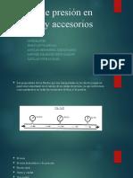 Caídas de presión en tuberías y accesorios