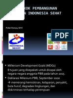 3 & 4 Pokok-pokok Pembangunan Kesehatan Indonesia Sehat 2015