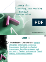UNIT 1 CHAPTER 2 CMMD TRANSDUCERS