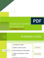 Matrices y sucursales