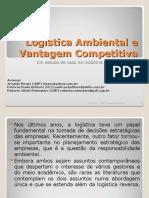 LOGISTICA DE GESTÃO VANTAGENS COMPETITIVAS